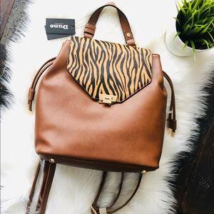 DUNE LONDON Designer Tiger Rucksack Backpack NWT